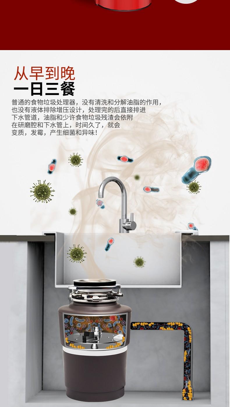 食物垃圾处理器KL-450S(图2)